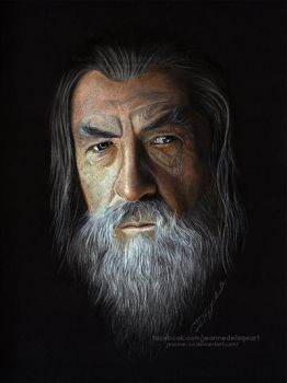 Gandalf (Ian McKellen) | Speed Art by Jeanne-Lui