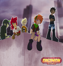 [Digimon re:CON] all hail the new kids by glitchgoat