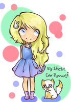 Fionna y Cake. By: 27Leslie by permarie