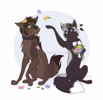 CM - Herman and Eclipse by Mistrel-Fox