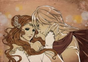 Catriona and Seiya by Archie-The-RedCat