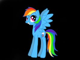 Another Pic of Rainbow Dash by Narwhals-are-beast