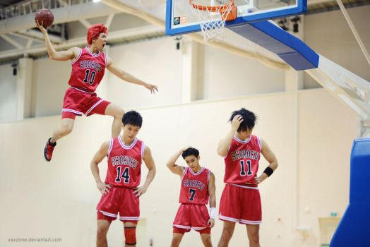 Genius Hanamichi! Slam Dunk by vaxzone