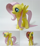 Fluttershy Papercraft by vegeta0777