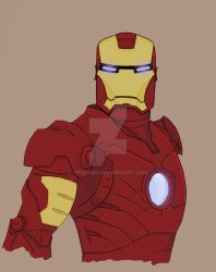 Iron man more coloring by gfield35