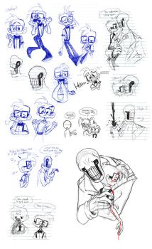OFF: ChesterXDedan Doodles by NeroStreet