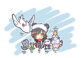 Tsuyun Pokemon Team