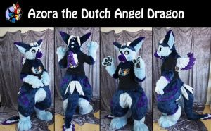 Azora the dutch angel dragon by Maria-M--aka--Bakura