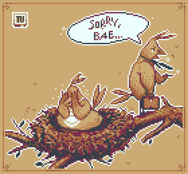 Pixel Dailies  03-06 Nest X5 by TRUEvector