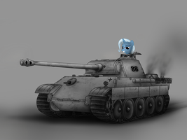 Trixie and Panzerkampfwagen V Panther by Filincool