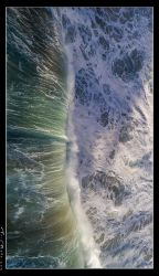 Untitled Aerial Wave - Kauai by aFeinPhoto-com