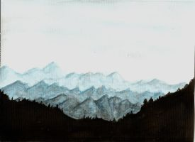 Mountains by ErchamionI