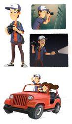 Dipper the mystery photographer by markmak