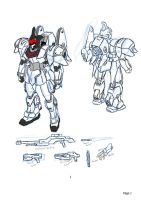 Mobile Suit Design Request: 0god02 by Linkinpark30101