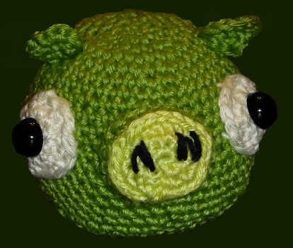 Angry Birds Pig by Justyne