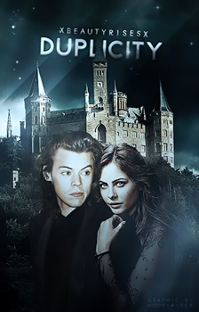 Duplicity // Book Cover by moonxriver