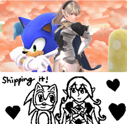 Sonic x Corrin by EternityTsubasa