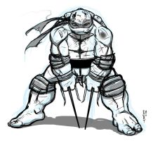 Raph sketch by Ninja-Turtles