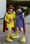 Cosplay- Negs and DW by Icequeenkitty