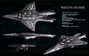 Wraith Cruiser ortho by unusualsuspex