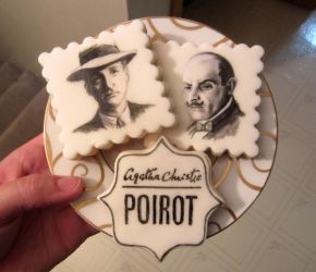 Poirot cookies by auggie101