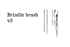 Brindle brush UPDATED by aes0