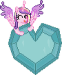All Hail The Princess Of Love by 8-BitBrony