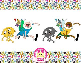 Adventure Time Coloring Book Game by heglys