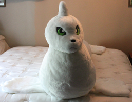 Huge Dewgong Plushie by TheSleepyMonster