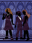 Silhouetted Singers by ErinPtah