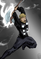 Infinity Thor color by Rex-Mortis