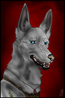 Archer - Headshot Commission by CanisPraxis