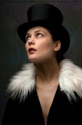 look to the sky in that tophat by eyefeather-stock
