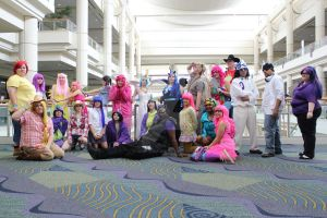 Photoshoot Group shot Megacon 2012 MLP Group by Silly-Spike
