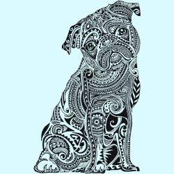Polynesian Pug by Design-By-Humans