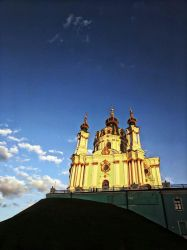 St Andrew's Church, Kiev by NataliGagarina