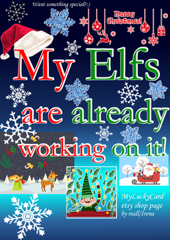 My Elfs Already Working On It by artReall