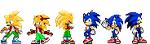 Simple sprites by KellyTheSeyky
