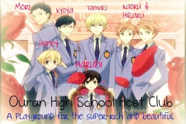 Ouran High Hosts by Nosuzu-Chan