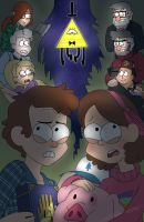 Welcome back to Gravity Falls by tejedora