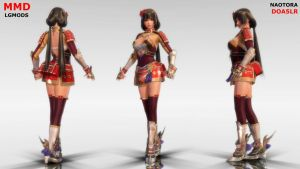 [MMD DL] DOA5LR - NAOTORA II : COS01 (Download) by LGMODS