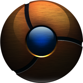 brushed google Chrome updated by Synt0xx