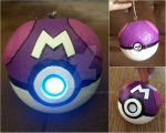 Master Ball Portable Phone Charger by PtrCosplay