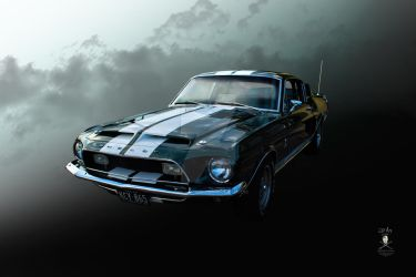 1968 Mustang Shelby Fastback by amillar1234
