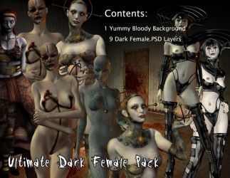 Ultimate Dark Female Pack by WitsResources