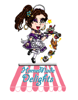 HomeMade Delights - Logo (Colored)