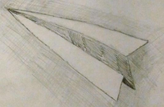 Paper Airplane by WarrenHall12