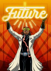 COM-ED The Future is Bright poster by PaulSizer