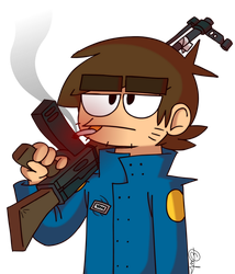 Eddsworld - Paul ter Voorde by ENEKOcartoons