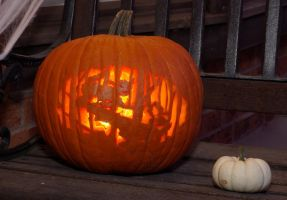 'Little Red' Punkin 2011 by brightling